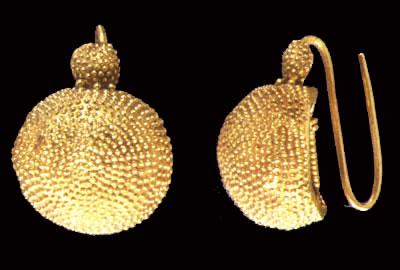 orecchini Ori di oplontis