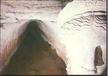 Foto delle antiche terme vesuviane