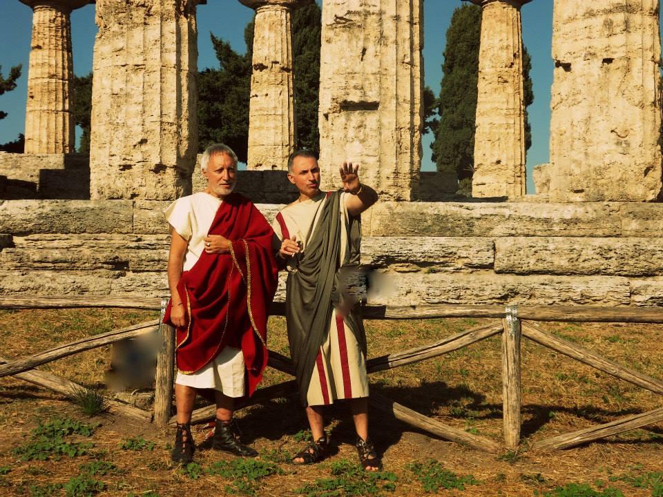 L 39 archeoclub alla borsa mediterranea del turismo for Antiche ricette romane