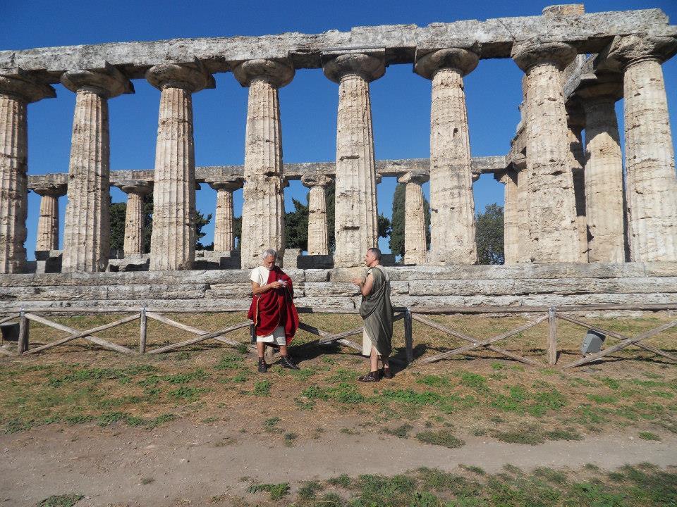 L 39 archeoclub alla borsa mediterranea del turismo for Ricette romane antiche