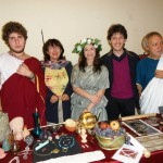 resoconto I 40 anni dell'Archeoclub d'Italia e LA RICETTA DELLA TORTA DI MELOGRANO