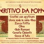 APERITIVO DA POPPEA ad Oplontis: Resoconto