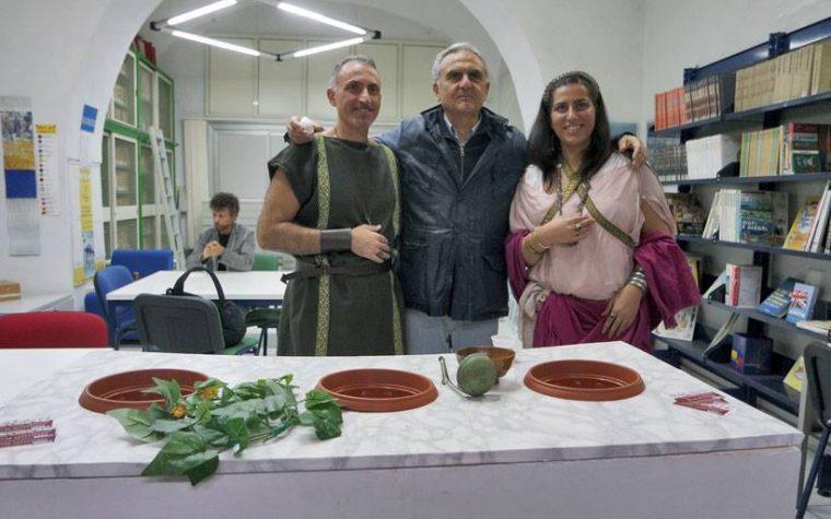 22 ottobre eventi culturali organizzati dall'Archeoclub  di Torre Annunziata