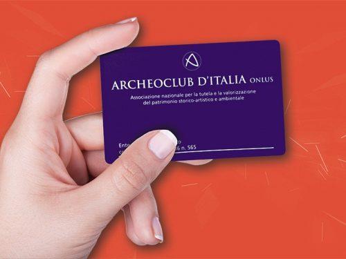 DIVENTARE SOCIO ARCHEOCLUB 2019