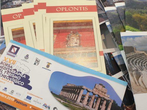 Archeoclub di Torre Annunziata alla Borsa del turismo di Paestum